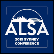 ALSA Conference 2015 Sydney